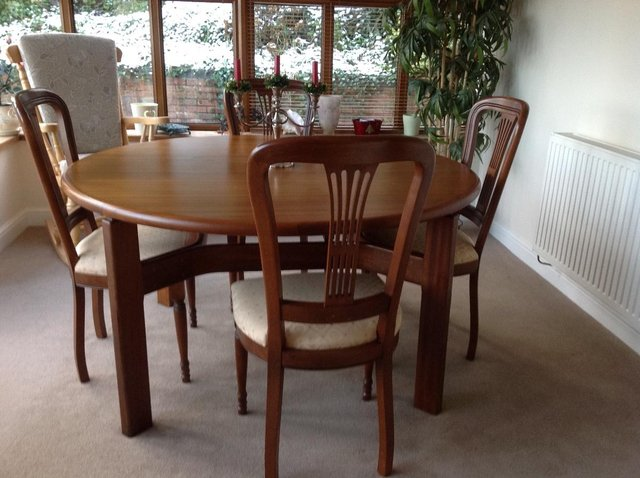 round dining cherry wood ideas