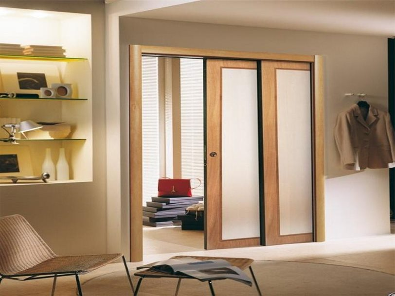simple minimalist and modern door