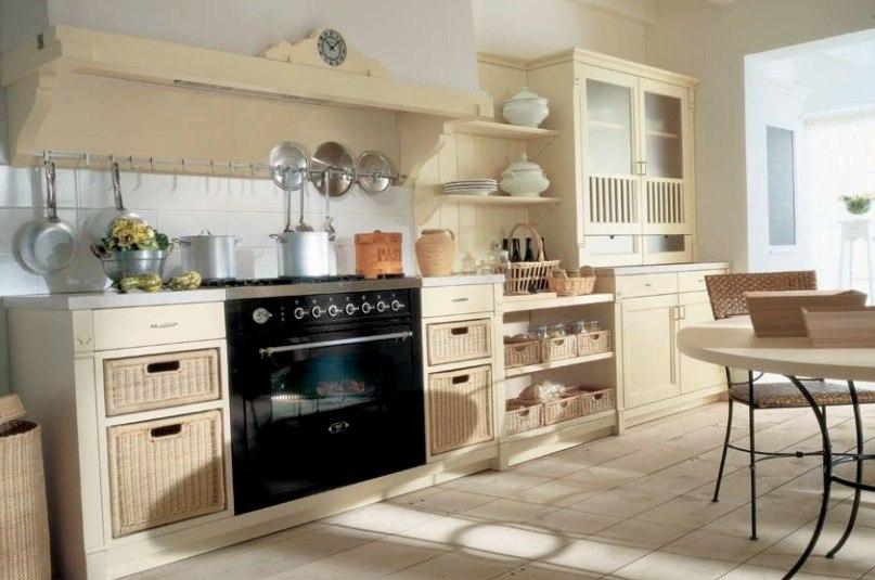 soft color kitchen