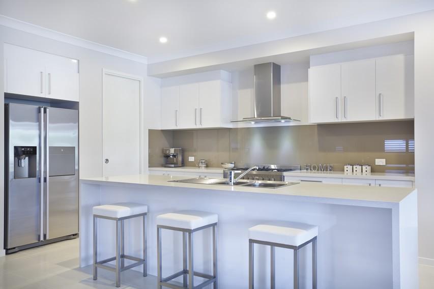 stainless kitchen design