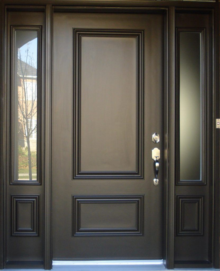 steel doors design