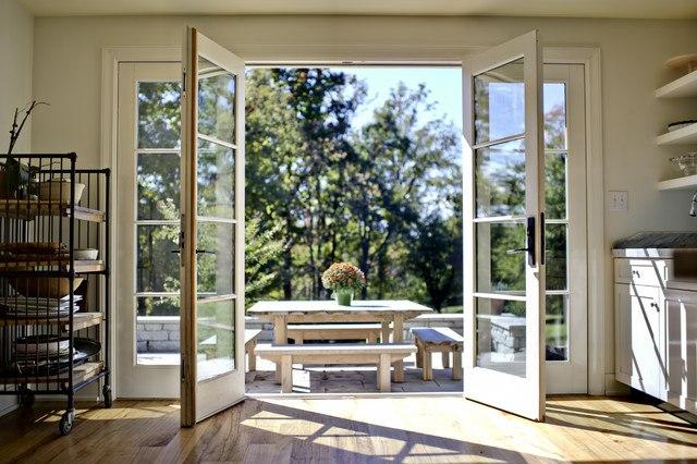 wide angle doors
