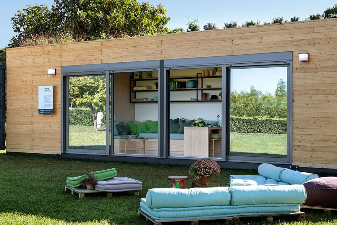 shipping container as a house design