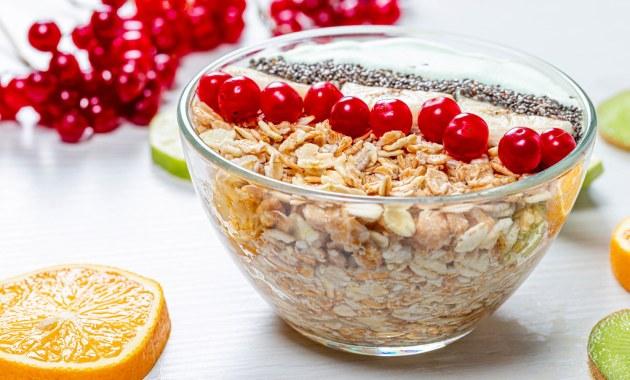 Obat Herbal Kolesterol - Oatmeal