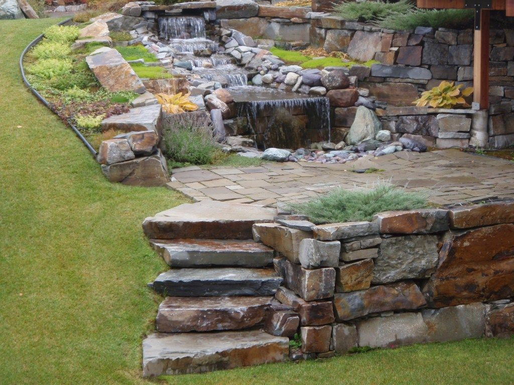 Stone Landscaping for Garden Design