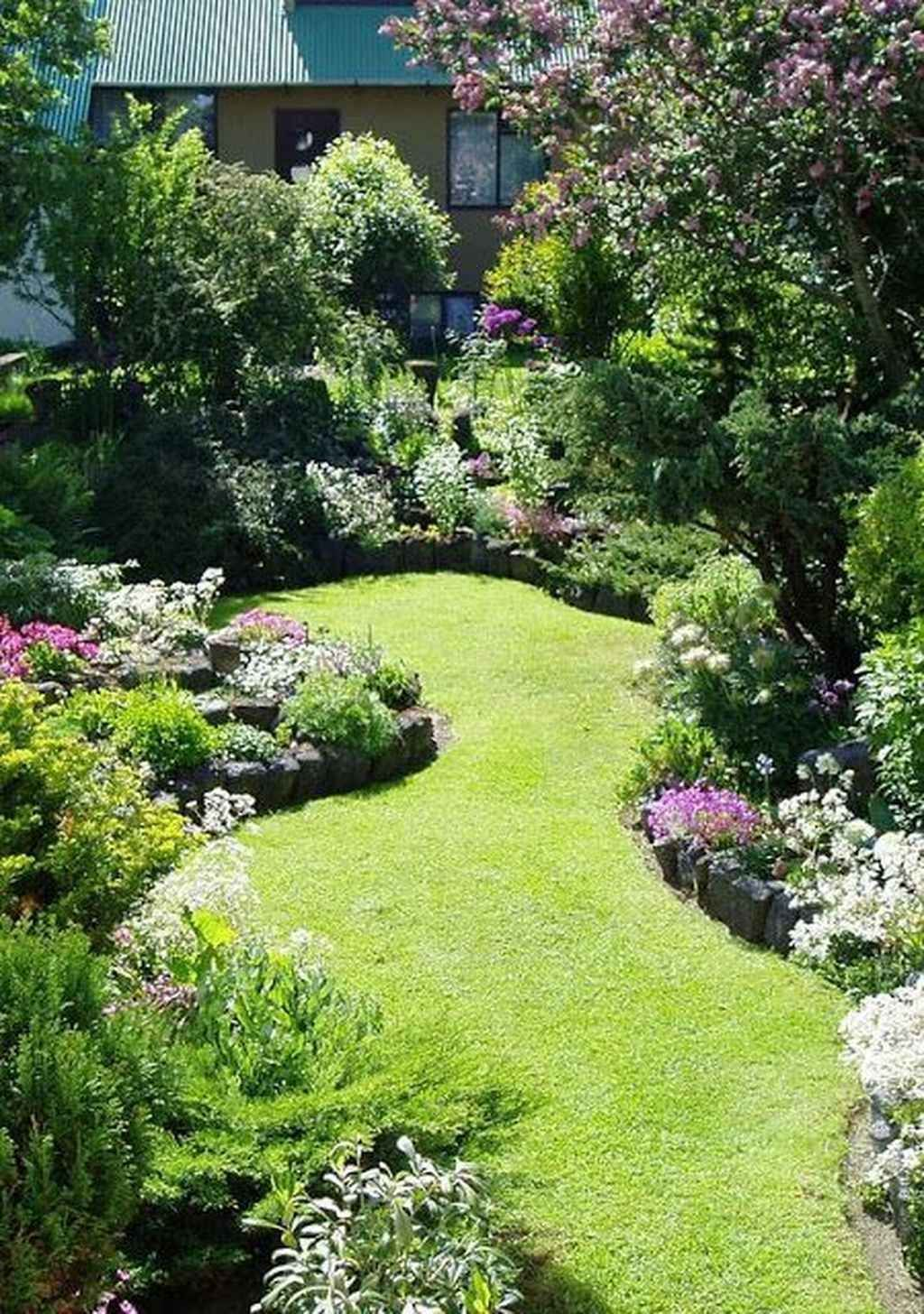 elegant garden flowering