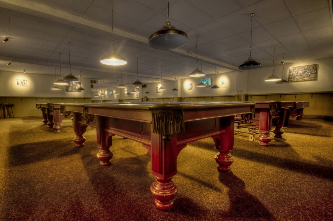 room for pool table
