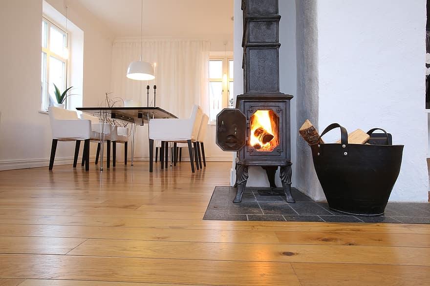 fireplace cast iron fireplace scandinavian design 1