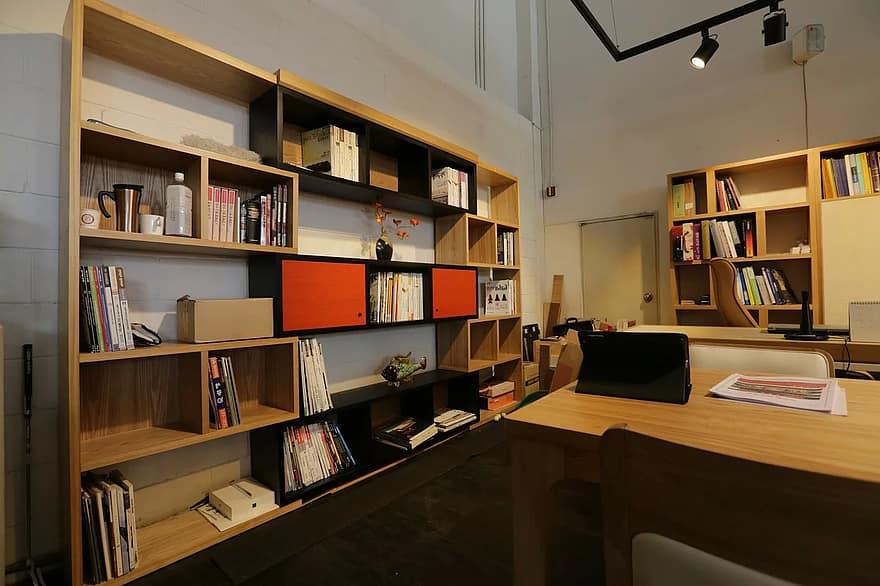 office shelf desk interior design living room furniture interior living home