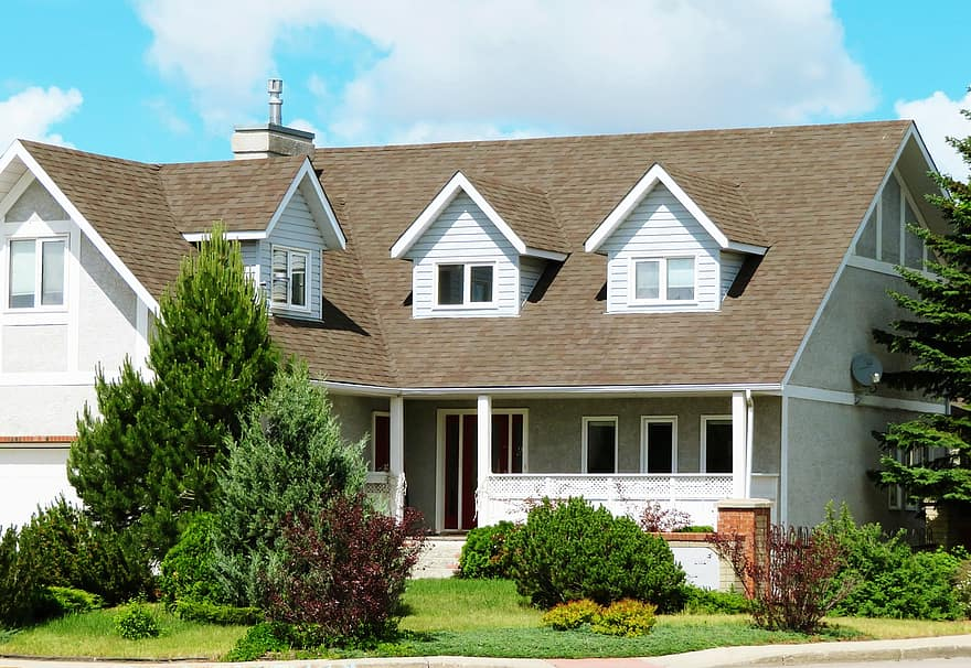 house home property real estate residence mortgage suburban exterior dwelling