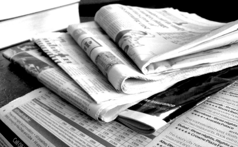 What's happening to our newspapers…A look at the changing position of newspapers in our media landscape.