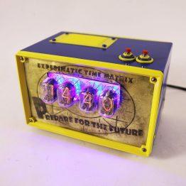 fallout nixie tube clock, gift, nixie, steampunk