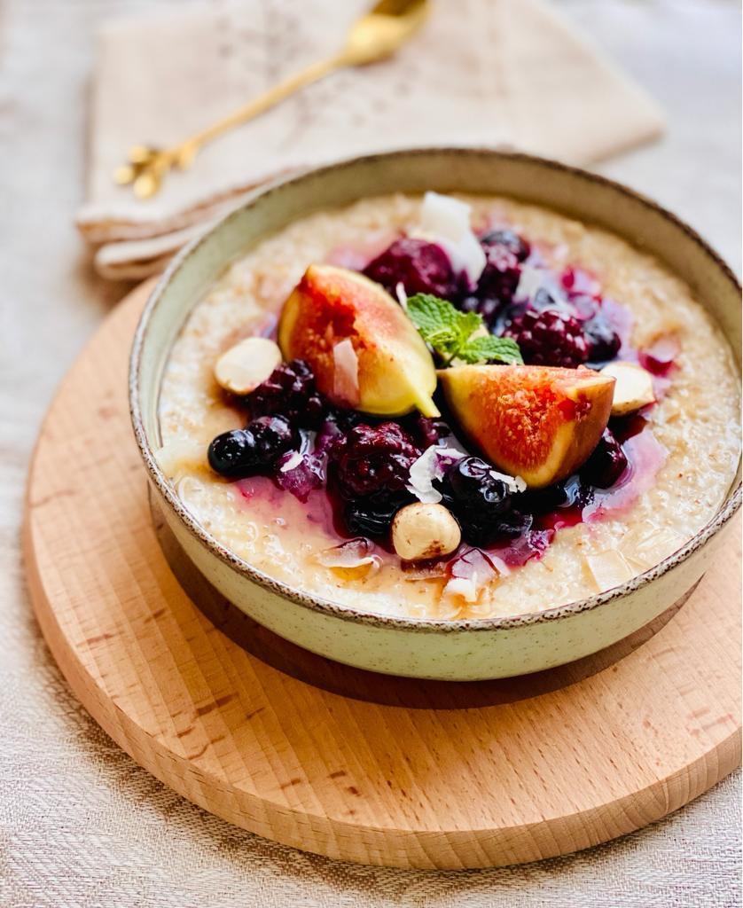 Porridge cu arome de toamna