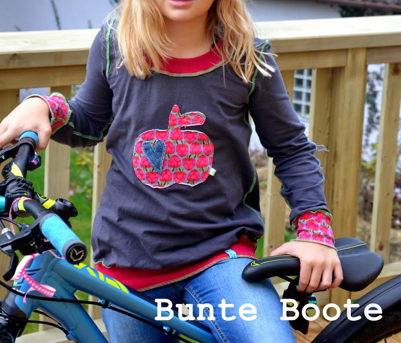 Rosita Shirt farbenmix Download Schnittmuster Ebook