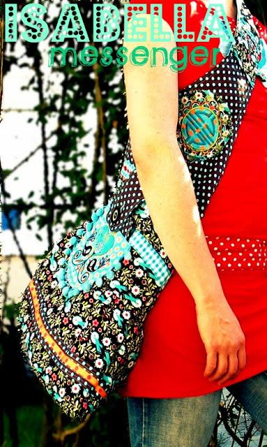 Jolijou Isabella Messenger Bag Farbenmix Schnittmuster