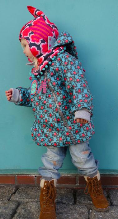 IZZY Jackenschnittmuster Übergangsjacke, selber nähen, Schnittmuster Sommerjacke farbenmix
