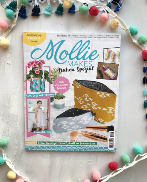 Cover Mollie MAKES Nähen Spezial - Lesetipp