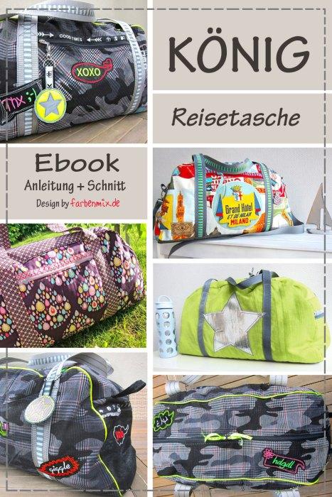 Ebook König aus der Taschenspieler Serie - als Einzelnes Schnittmuster zum Einführungspreis