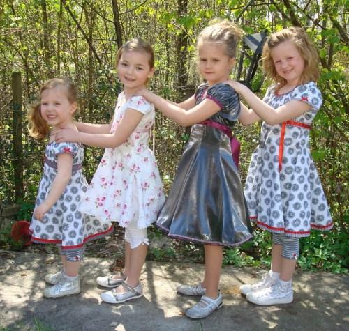 Rund um die Einschulung - Ein Favorit das Kleid Drehkleid ELODIE von farbenmix - Als Papierschnitt oder Ebook
