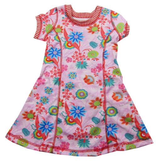 kunterbunte Kiara - Papierschnittmuster für Jerseykleid von farbenmix - Kleider aus Jersey nähen mit Anleitung