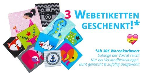 Farbenmix Webetiketten