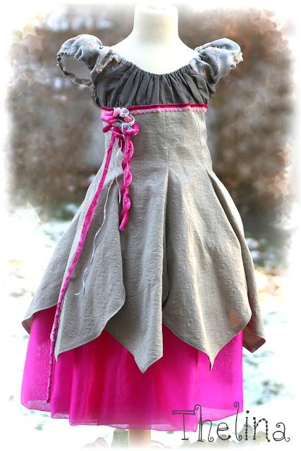 Kleid unique nahen