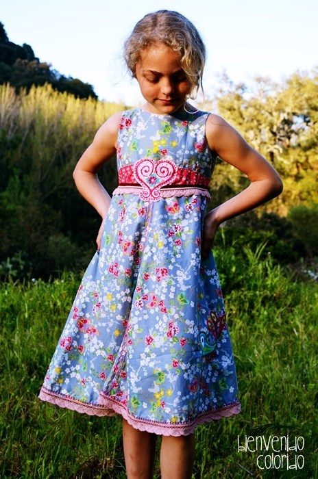 auf Lager beste Qualität stylistisches Aussehen Einschulungskleid selber nähen … Elodie, Feliz, Unique…