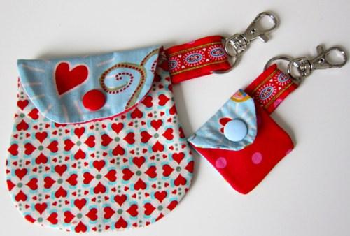 Freebook Minitasche - ideal als Aufbewahrung oder Geschenkverpackung zum Beispiel für Schätze aber auch für Fidget Spinner