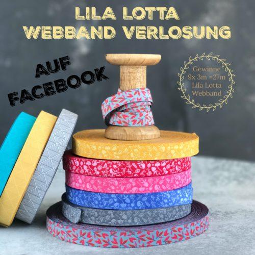 Forest Webband Verlosung jetzt auf der farbenmix Facebook Seite - Lila Lotta Design Forest
