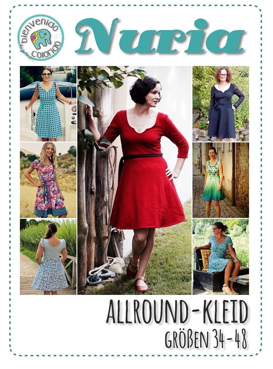 NEU – Allround-Kleid Nuria und Nurita | Schnittschnapper Love, Peace ...