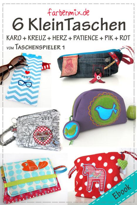 Taschenspieler 6 Kleintaschen - Ebook Neu bei farbenmix