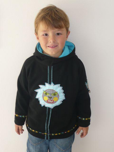 Annika Designbeispiel kibadoo - Fledermausshirt nähen auch für Jungs mit den Schnittmustern bzw. ebooks von farbenmix