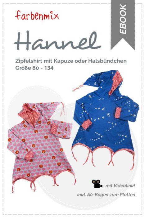 Zipfelpulli Hannel - jetzt neu überarbeitet als Ebook und Papierschnitt