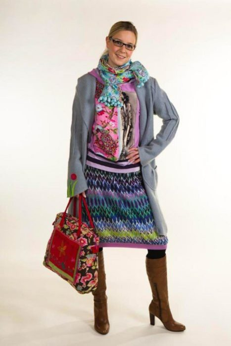 Damenrock nähen design traumschnitt über Farbenmix