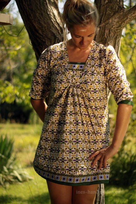 Bluse für den Sommer nähen mit TARA Design Jolijou bei farbenmix