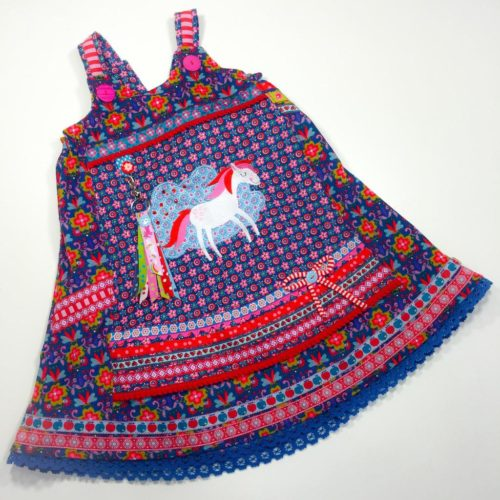 Trägerkleid Vida - ein Schnittmuster für ein Einschulungskleid von farbenmix