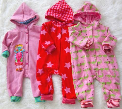 Schnittmuster für Kinderkleidung , Schnittmuster für Babies Overall von farbenmix Nähen für Babys