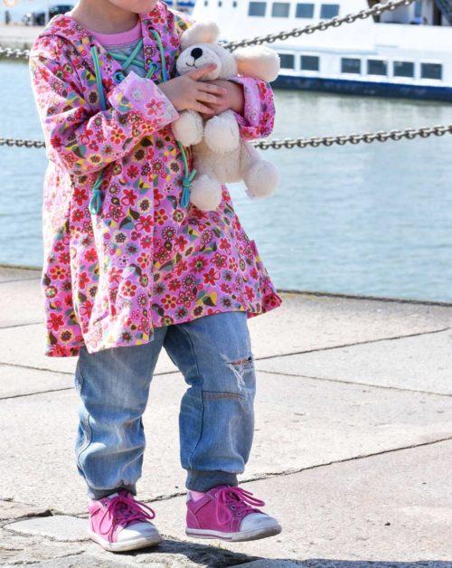 Tunika bluse für Kinder nähen mit dem Ebook TAJA von farbenmix - für Anfänger geeignet