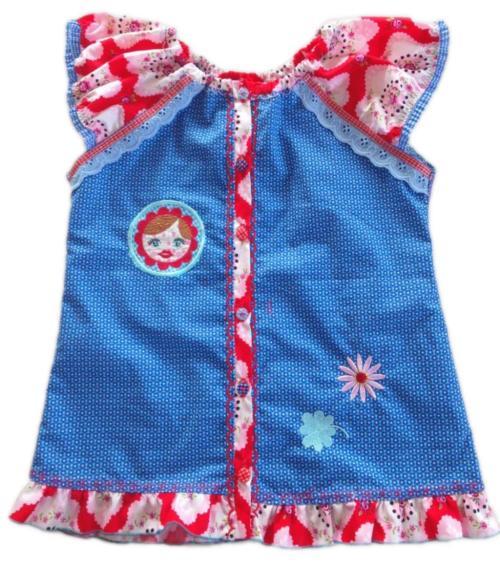 Bendixa Blusen Schnittmuster für Kinder erhältlich bei farbenmix.