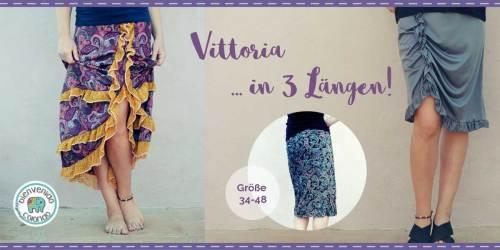 Damenrock nähen im Boho-Style mit dem Ebook VITTORIA von bienvenido colorido
