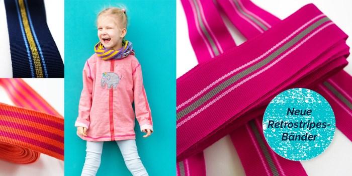 Streifenbänder um deine Nähprojekte aufzuhübschen jetzt im farbenmix Online Shop
