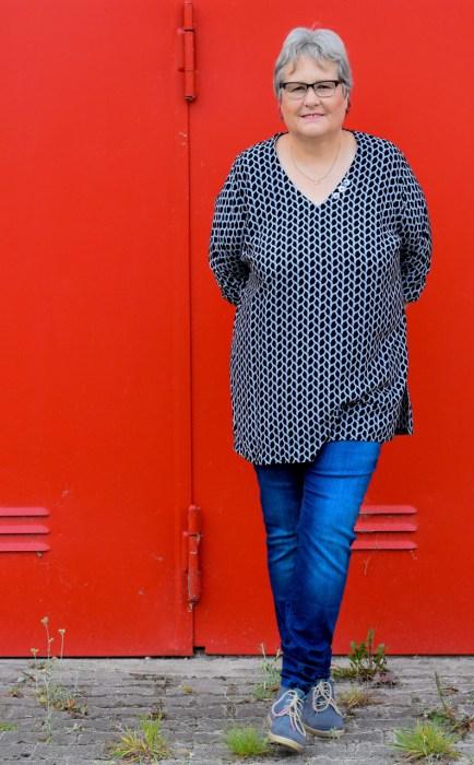 Viskosestoff für Blusen Blusenshirt farbenmix Stoffshop