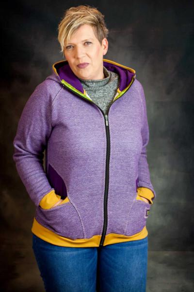 Paula XL ist ein Jackenschnitt für Plus Size Größen bis 60