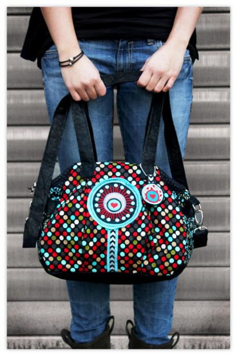 Kugeltasche Taschenspieler 2 von farbenmix als Komplett Taschenschnittmuster Bundle