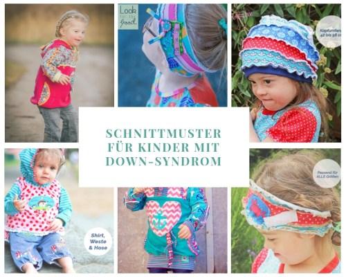 Schnittmuster für Kinder mit Down-Syndrom - Selbernähen für Kinder mit Down-Syndrom