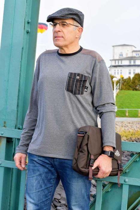Shirt Schnittmuster für Herren - nähen für Herren mit farbenmix Schnittmuster und ebooks