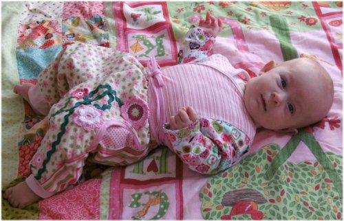 Zwergenverpackung Volume 2 - als Ebook und Papierschnittmuster - Baby Erstausstattung nähen mit Schnittmuster von farbenmix