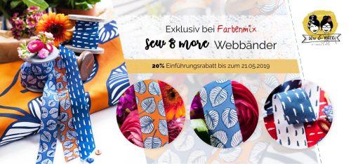 Sew & More Webband Kollektion