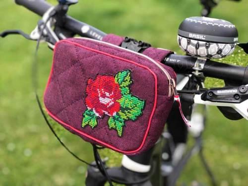 Gürteltasche oder Fahrrad Lenkertasche - HETI von farbenmix Design Puschenhexe