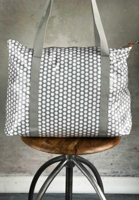 Tasche nähen aus beschichteten Stoff - Ruckzucktasche von farbenmix Ebook und Anleitung